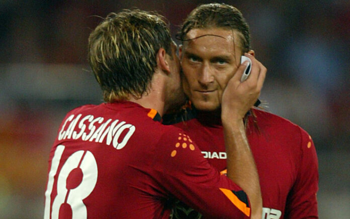 Cassano Has Discussed Playing for Roma with Francesco Totti