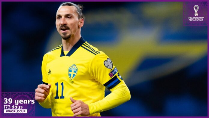 Ibrahimovic Is Sweden's Oldest Player