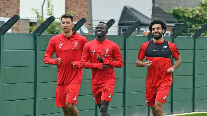 Mohamed Salah was questioned about his future with Premier League champions Liverpool.