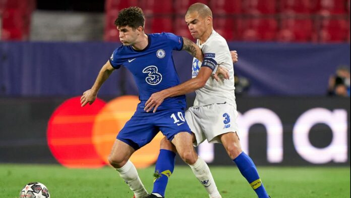 Pulisic Was Fouled 11 Times in Chelsea vs Porto