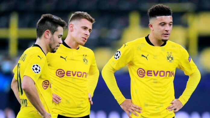 Sancho May Not Play Champions League Quarter-final against Manchester City