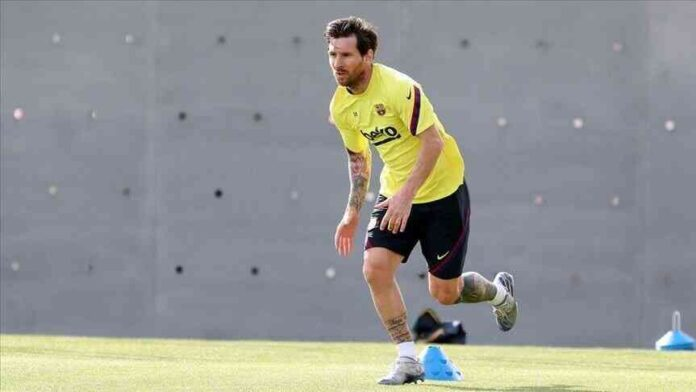 Football Live Today – Messi Will Join Barcelona's Training before an Extension