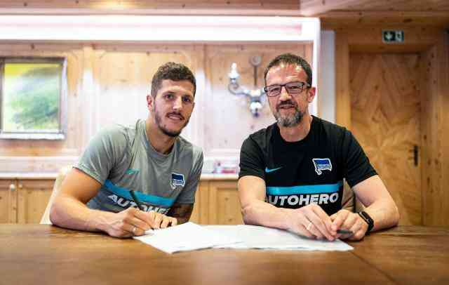 Football Live Today – Jovetic Has Signed with Hertha Berlin