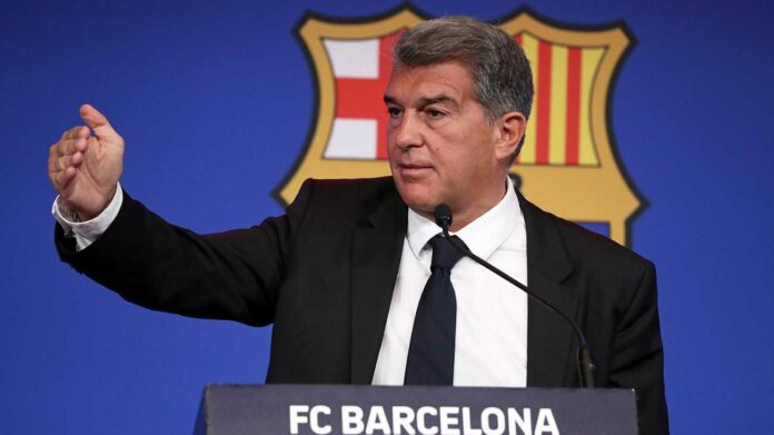 Laporta Discusses Messi's Barcelona Exit in Football Live Today