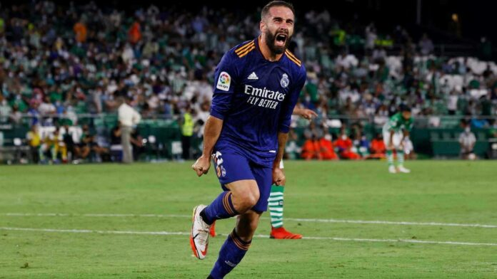 Real Madrid's Carvajal Sustained an Injury against Valencia