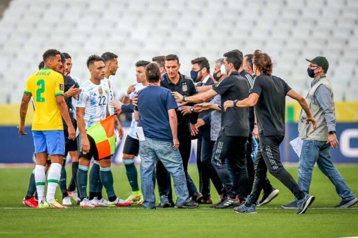 World Cup Football News – The Brazil-Argentina Clash Halted