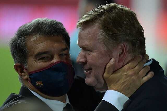 Laporta on Koeman: He Deserves to Be Trusted