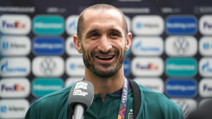 Chiellini Reminisces about the 2012 Final before Italy Face Spain